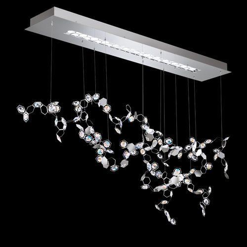 Swarovski Crystal Chandeliers And Lighting Custom Lighting