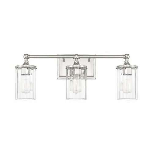 "CLEAR VANITY WALL SCONCE<div class=""cost"">WIC 22120731</div>"