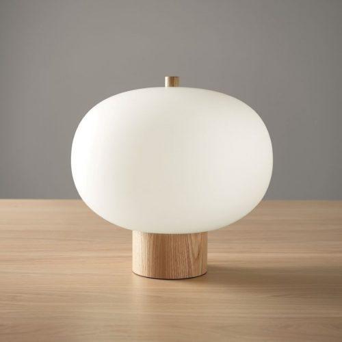 Luna Blown Glass Table Lamp