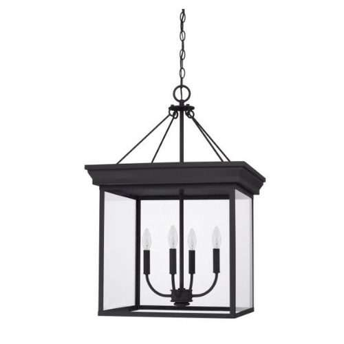 "4 LIGHT FOYER PENDANT<div class=""cost"">WIC 22528641/BK</div>"