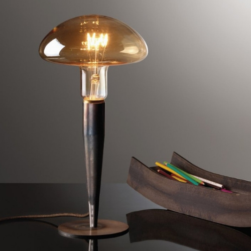 "BLOWN GLASS TABLE LAMP<div class=""cost"">ILB 2512/70</div>"