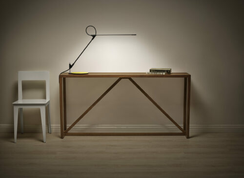 Super LED Table Lamp Displayed On A Table