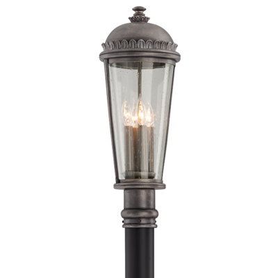 "4 LIGHT POST MOUNT<div class=""cost"">WIT 813565</div>"