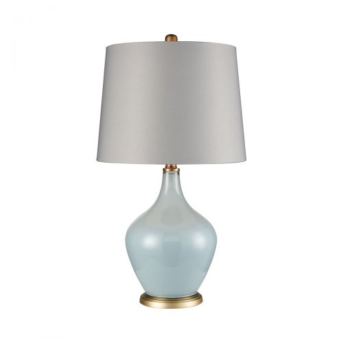 "LIGHT BLUE TABLE LAMP<div class=""cost"">WIK 663623</div>"