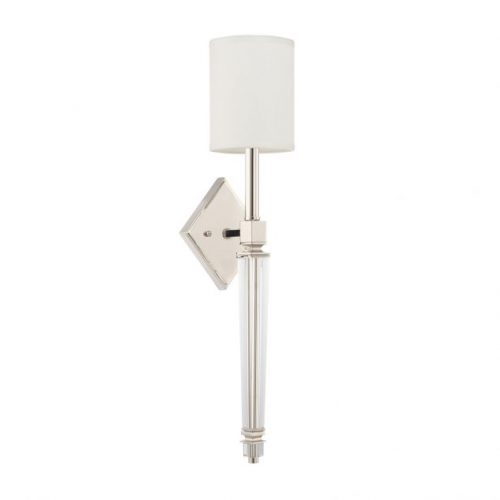 """POLISHED NICKEL SCONCE<div class=""""cost"""">WIC 22628412/PN/684</div>"""