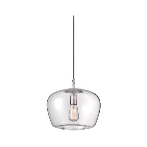 """BRUSHED NICKEL PENDANT<div class=""""cost"""">WIB 442260/84</div>"""