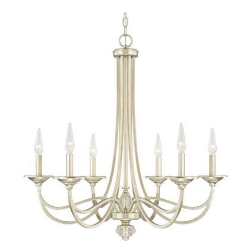 """SOFT GOLD CHANDELIER<div class=""""cost"""">WIC 22413861/SF </div>"""