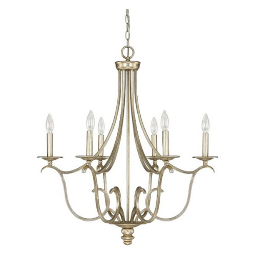 """SOFT GOLD CHANDELIER<div class=""""cost"""">WIC 224726/WG/000</div>"""
