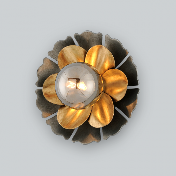 """FLORAL WALL SCONCE<div class=""""cost"""">WIT 81278/1</div>"""