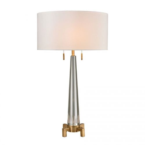 Wright Crystal Table Lamp