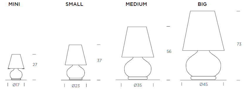 Paralume Table Lamp