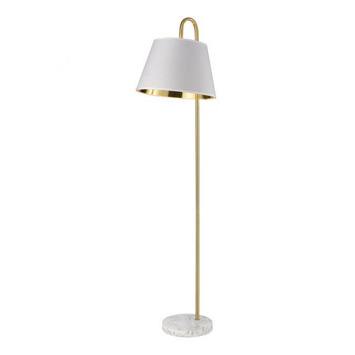 Fern Marble Floor Lamp