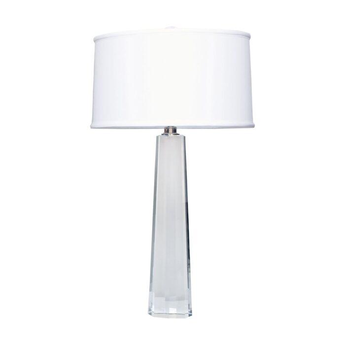 Alexandra crystal column table lamp