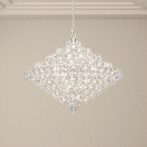 baronet-28-light-crystal-pendant