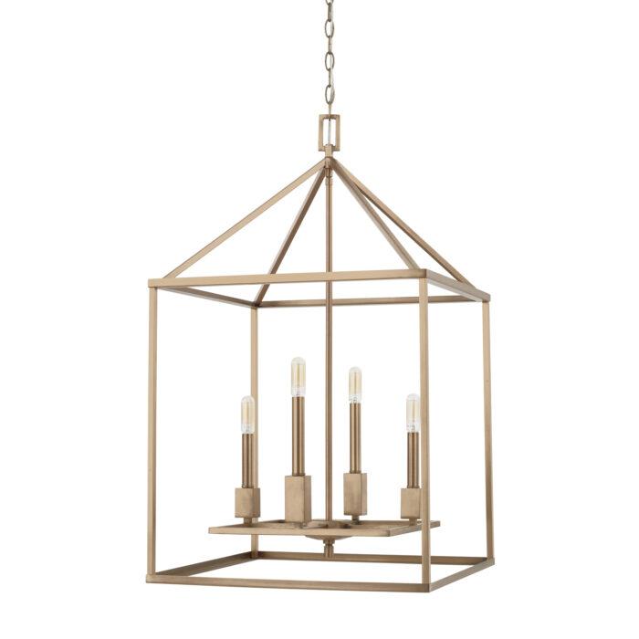 Bayou 4 light lantern