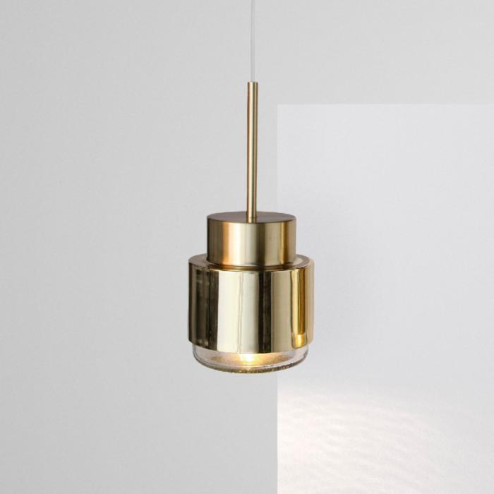 Cupallo pendant light polished brass