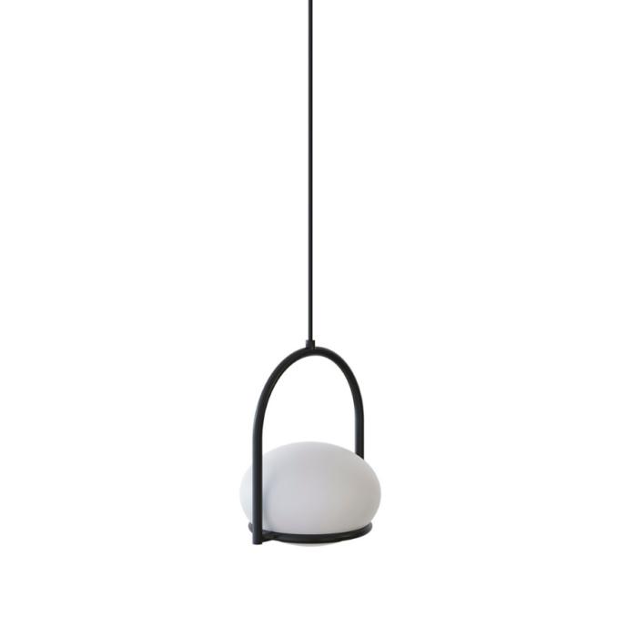 koko-single-pendant-light-black
