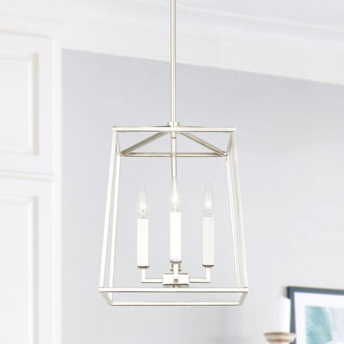 lakehouse-4-light-lantern-small-polished nickel