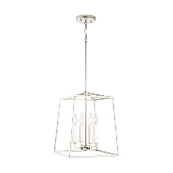 lakehouse-4-light-lantern-small-polished nickel_angle