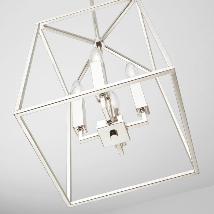 lakehouse-4-light-lantern-small-polished nickel_detail