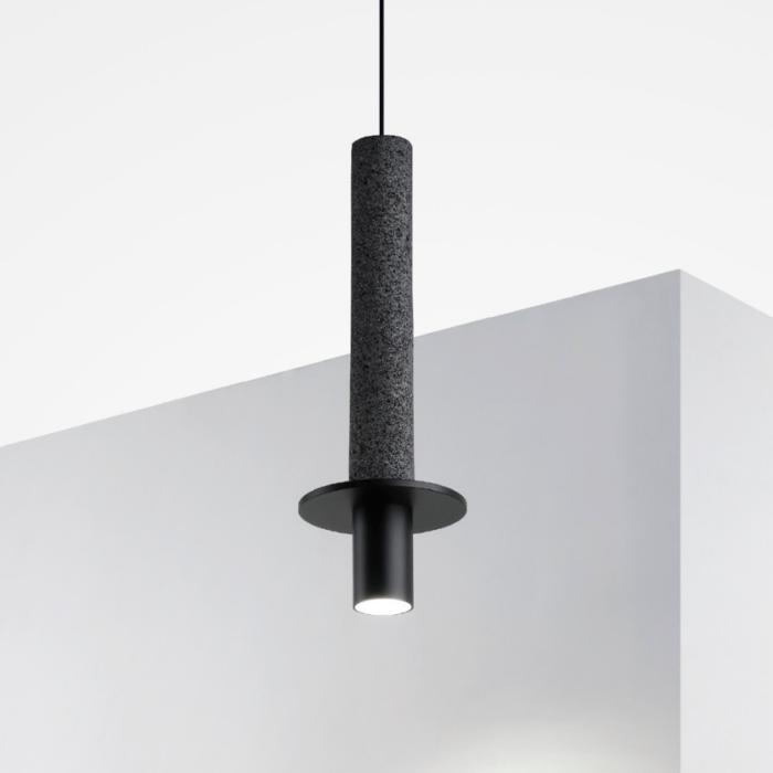 Meta pendant light black