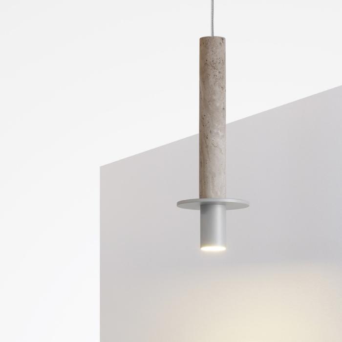 Meta pendant light white