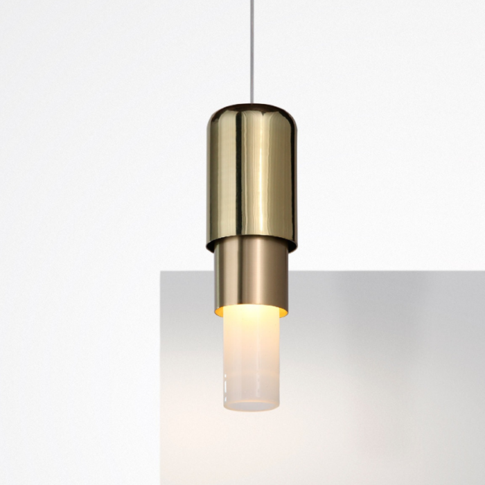 Mingo pendant light polished brass