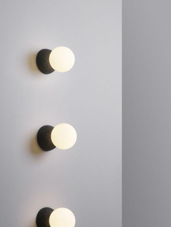 Origo wall light in a row